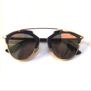 f57aa1013a2 Dior Accessories - Christian Dior so real navy rose gold sunglasses